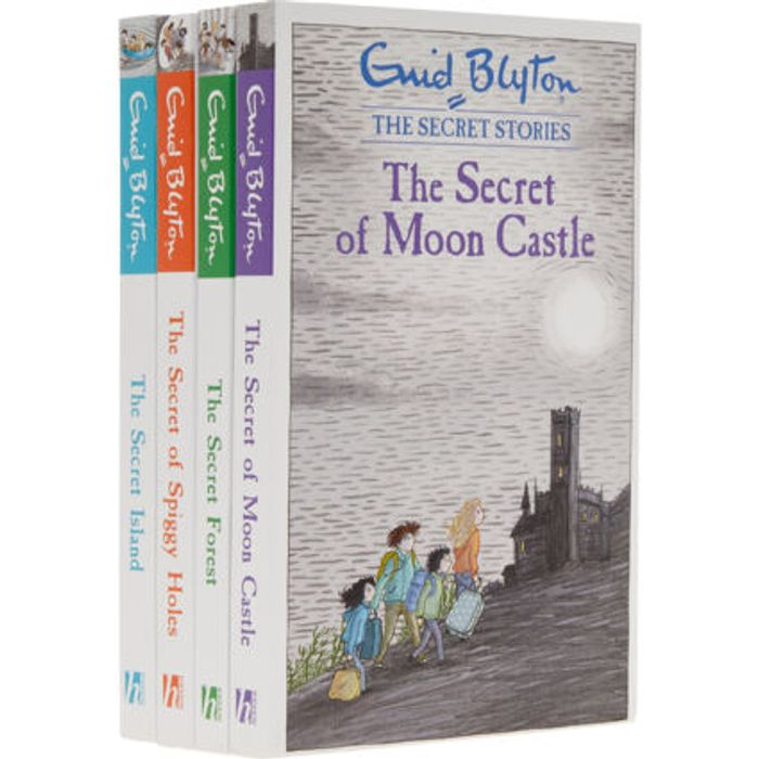 Four Pack Enid Blyton Secret Stories Set