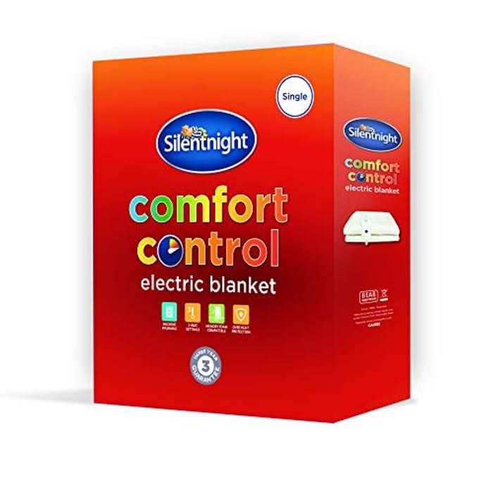 Silentnight Comfort Control Electric Blanket - Double
