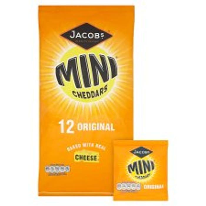 Jacobs Mini Cheddars Original 12 Pack