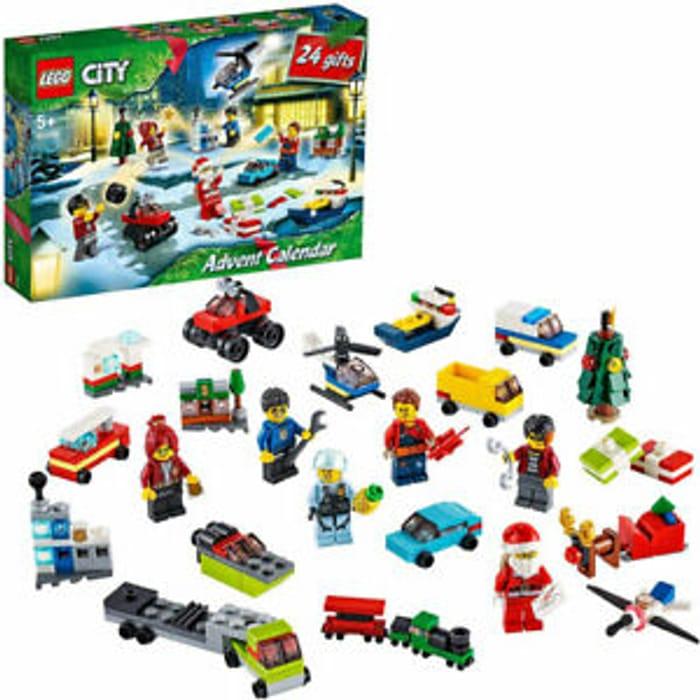 LEGO City 60268 2020 Advent Calendar 342 Pieces - £18.95 Delivered