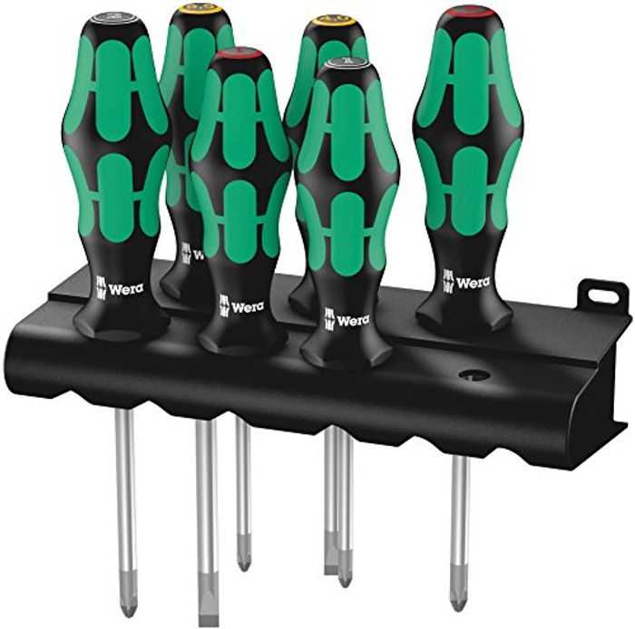 Wera Kraftform Screwdriver Set 6 Piece