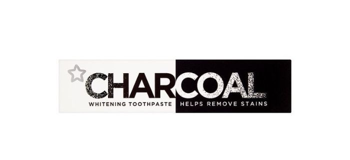 Superdrug Whitening Charcoal Toothpaste 75ml