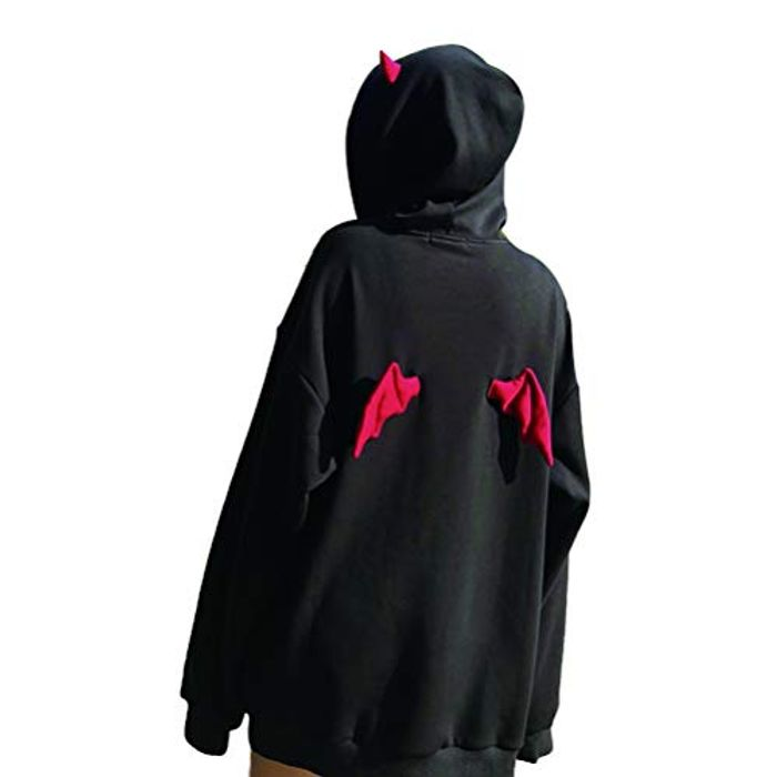 Women Devil Wing Hooded Sweatshirt FREE DELIVERY