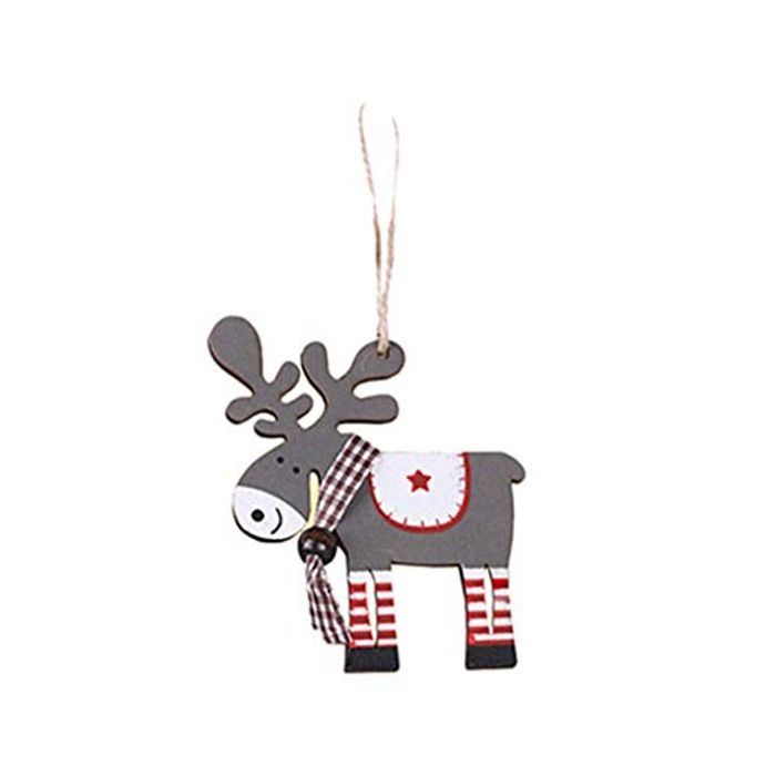 Wooden Hanging Christmas Ornament