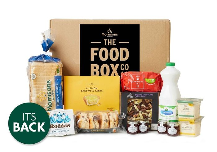 Afternoon Tea Box - Cheaper via Quidco or TCB - Code for All Food Boxes