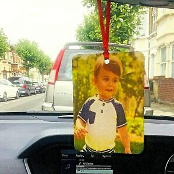 Personalised Hanging Car Freshener