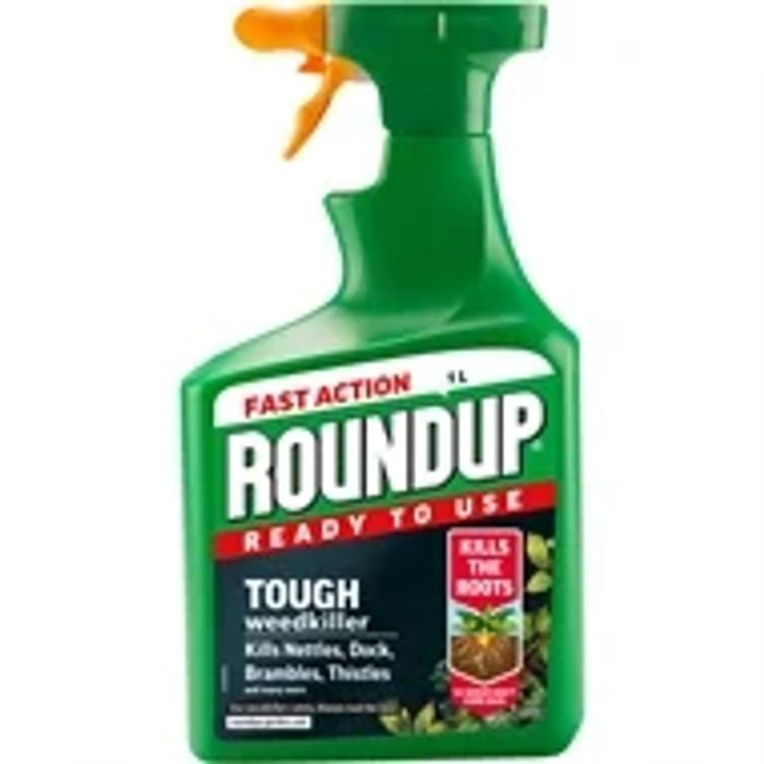 Roundup Tough Ready to Use Weedkiller - 1L