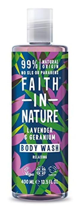 Faith in Nature Natural Lavender & Geranium Body Wash 400 Ml