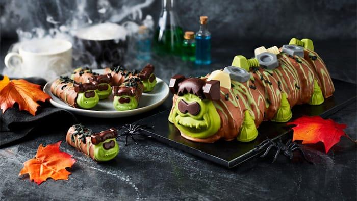 Meet Frankencolin the Caterpillar Halloween Cake from M&S!