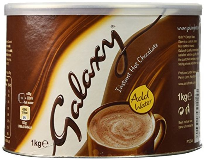 Galaxy 1kg Hot Chocolate £5.19 with up to 4 weeks wait