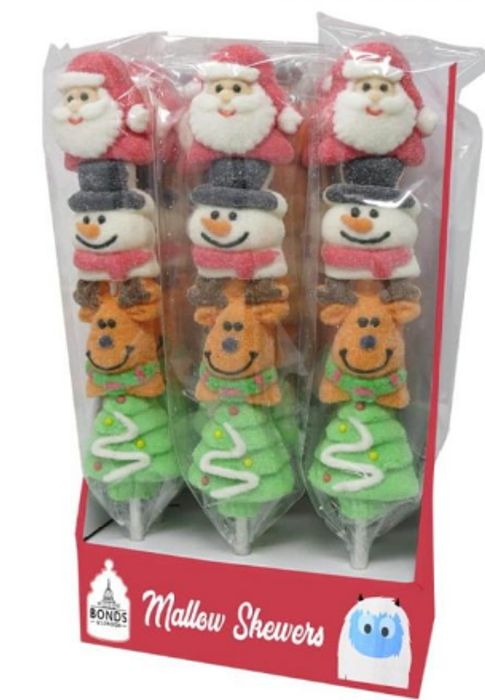 Strawberry Flavoured Christmas Mallow Pops *Festive Treat Or Stocking Fillers
