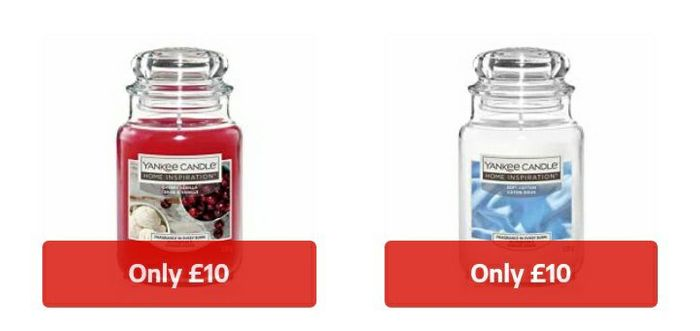 Large Yankee Candles Only £10 Each