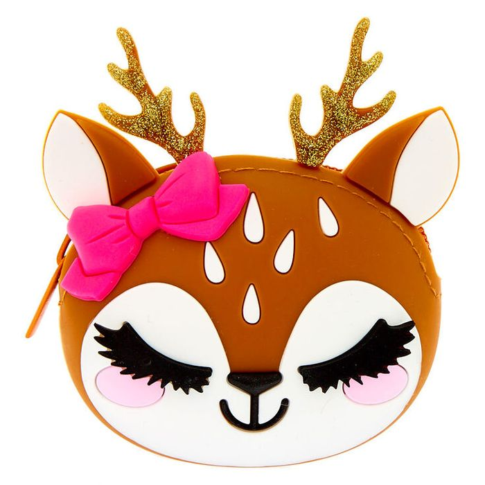 Ginger the Deer Jelly Coin Purse - Brown