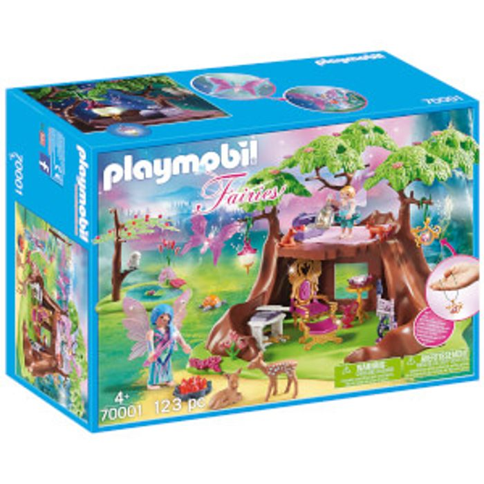 Playmobil Fairies Fairy Forest House down to £20.99