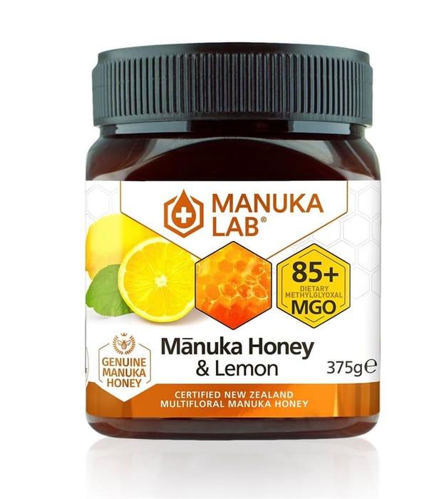 Manuka Lab Manuka Honey & Lemon 375g