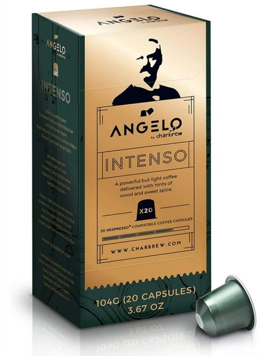 Charbrew Angelo Intenso 20 Capsules Coffee Pods