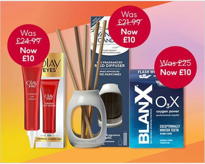 FLASH SALE £10 Tuesday at Boots