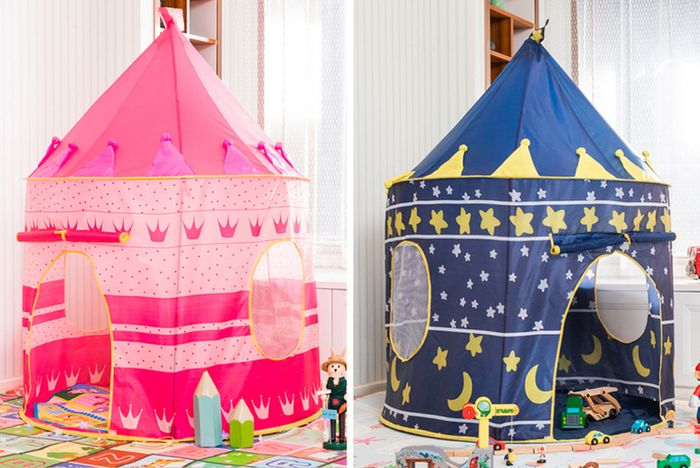 Cheap Kids Pop-up Tent - Blue or Pink - SAVE £45