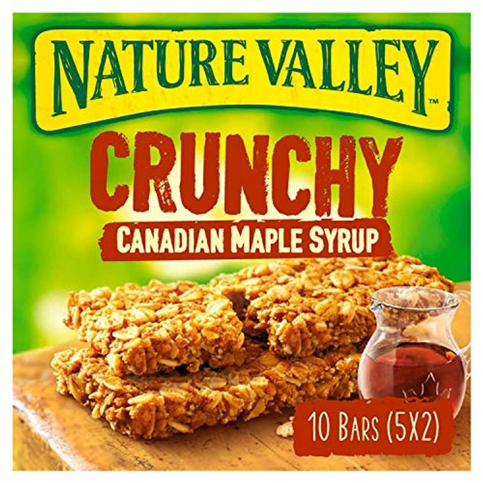 Nature Valley Crunchy Maple Syrup Bars, 5 X 42g