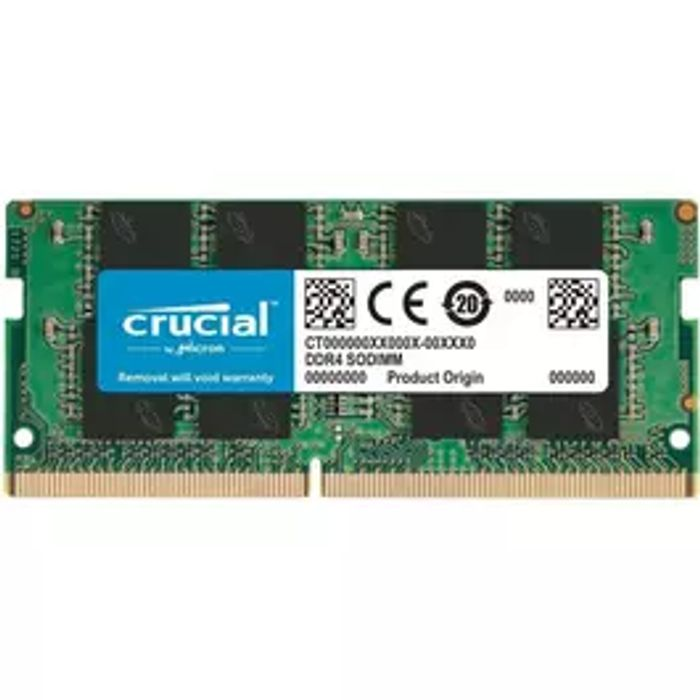 Crucial 8GB SODIMM Laptop Memory - Only £24.99!