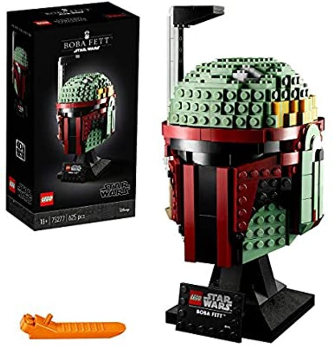 LEGO Star Wars Boba Fett's Helmet, Building Set, Buildable and Collectible Model