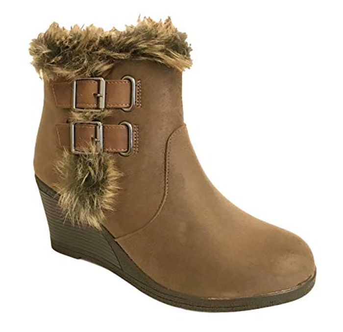 Cheap Womens Ankle Boots - Only £7.99!