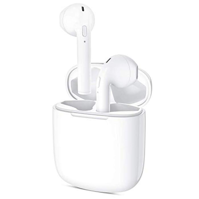 Lightning Deal! Bluetooth 5.0 Wireless Earbuds
