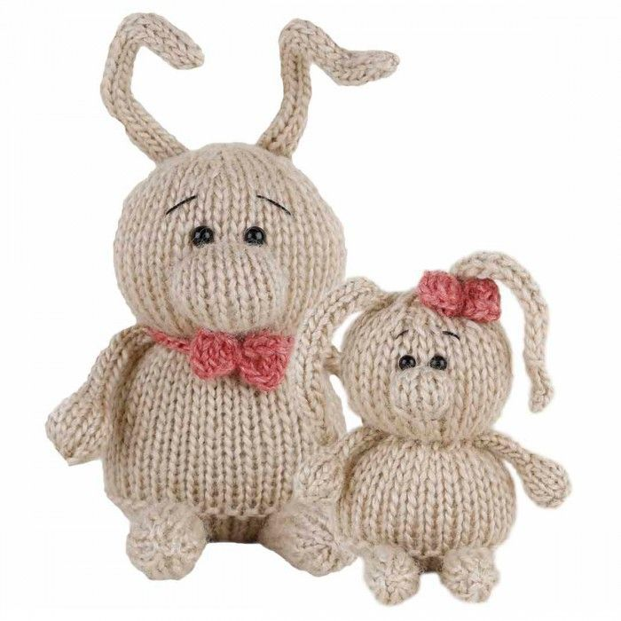 Laura and Andy Pattern Kit (Knitting)