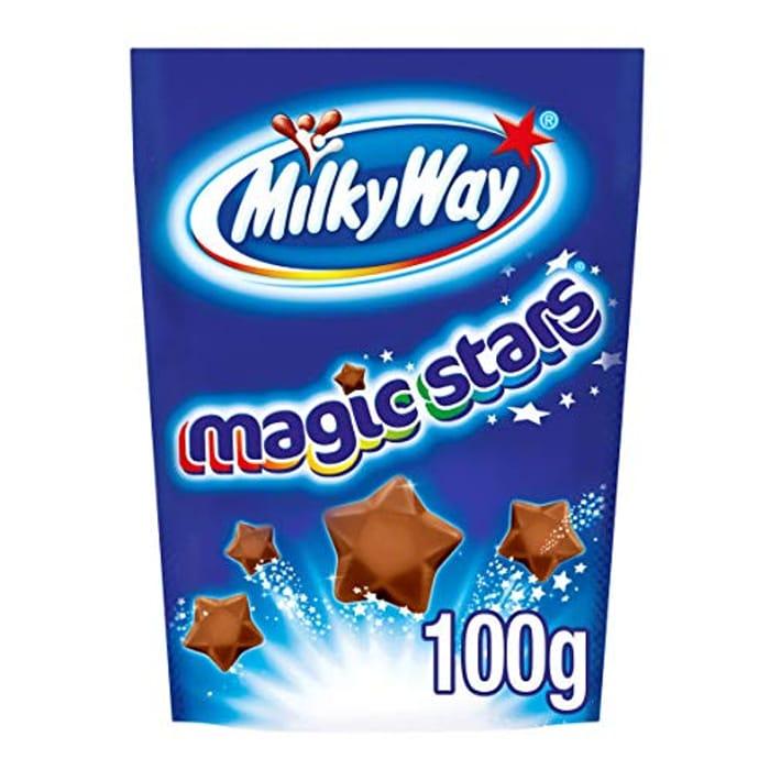 Milky Way Magic Stars Chocolate Bag, 91 G