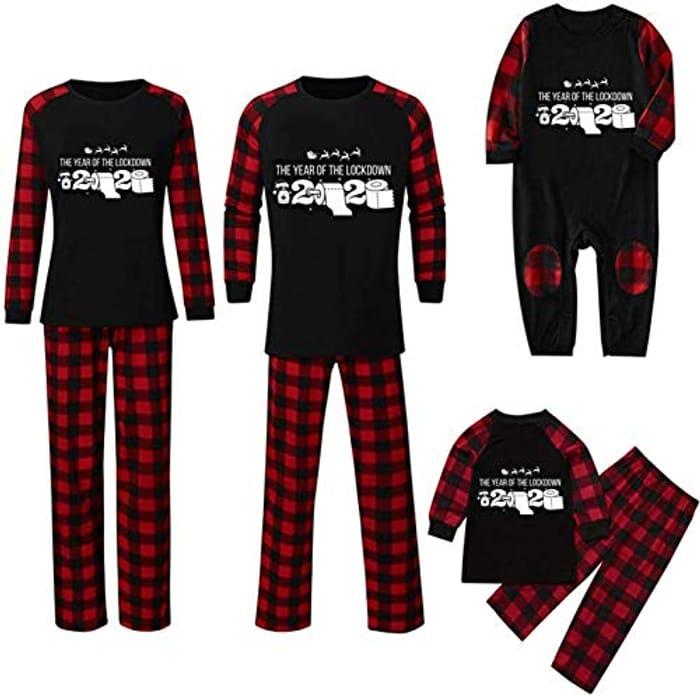 80% off 2020 Newest Family Christmas Pyjamas Set