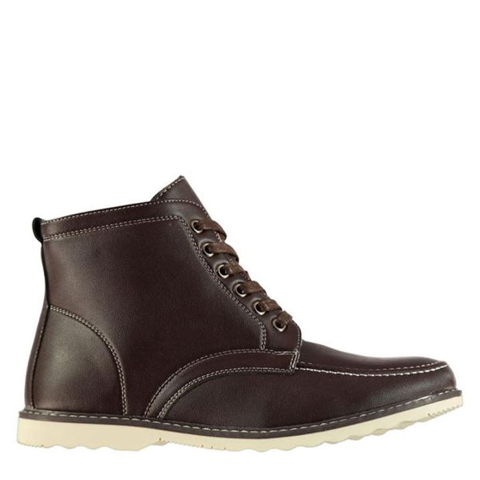 Lee Cooper Men's Lined Brown Boots. Perfect for winter!