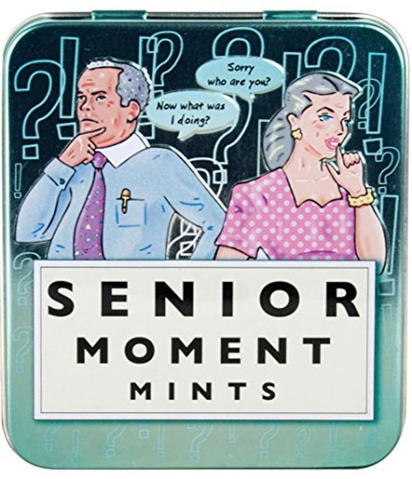 Spencer & Fleetwood Sugar Free Mints in a Senior Moment Tin 45 G