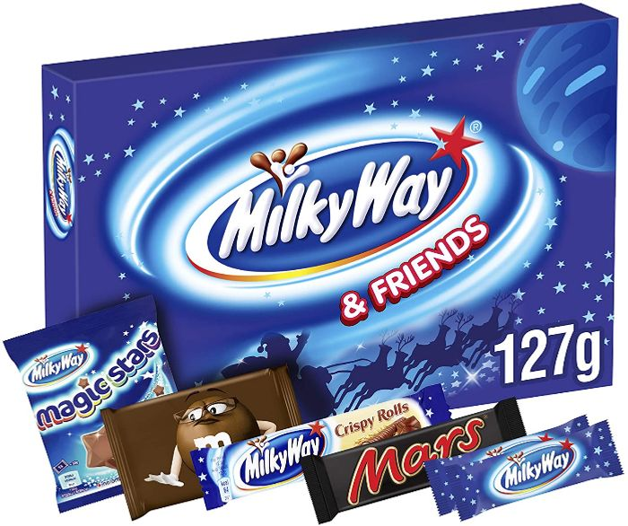 Milky Way Christmas Selection Box, 127g