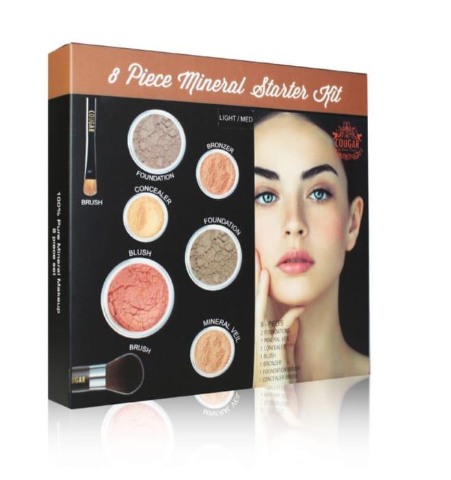 FREE Mineral Makeup 8Pc Starter Kit (Worth £39.99)