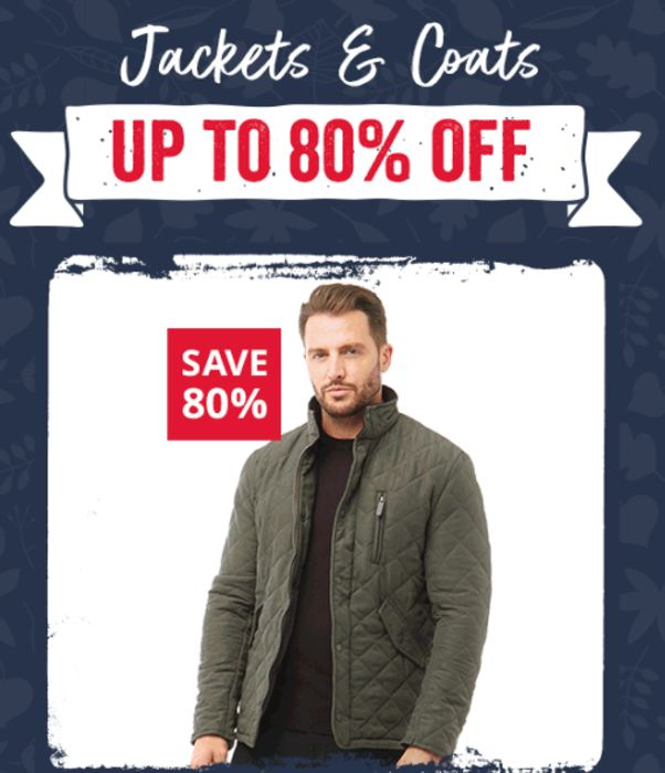 CHEAP! MandM Direct - Up To 80% Off Top Branded Coats & Jackets