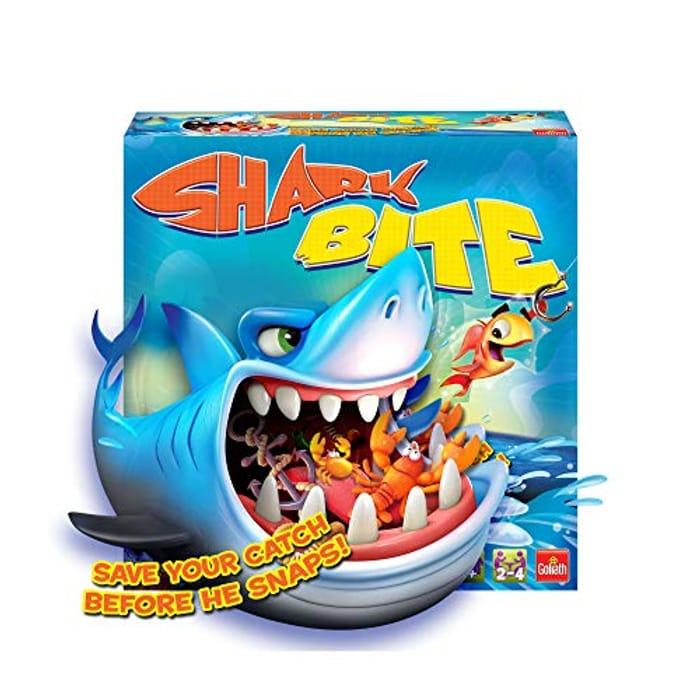 CHEAP! Goliath GL60034 Shark Bite Children's Family Fun Fishy Board Game