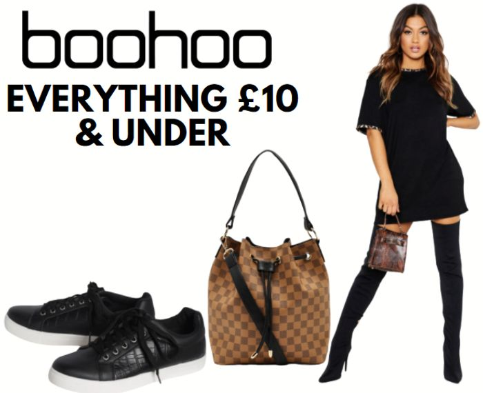 Special Offer - boohoo - Everything £10 Or Less!