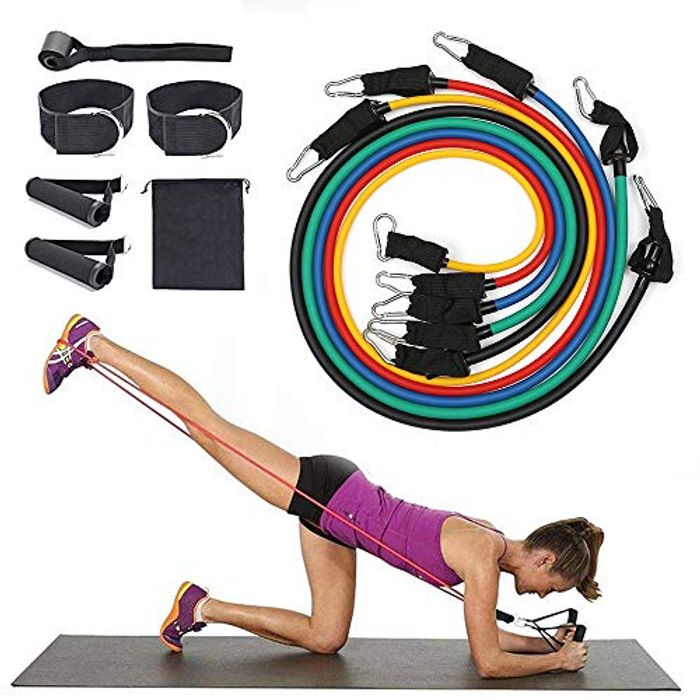 Price Drop! BEFANS Exercise Resistance Bands Set- 16 Pcs