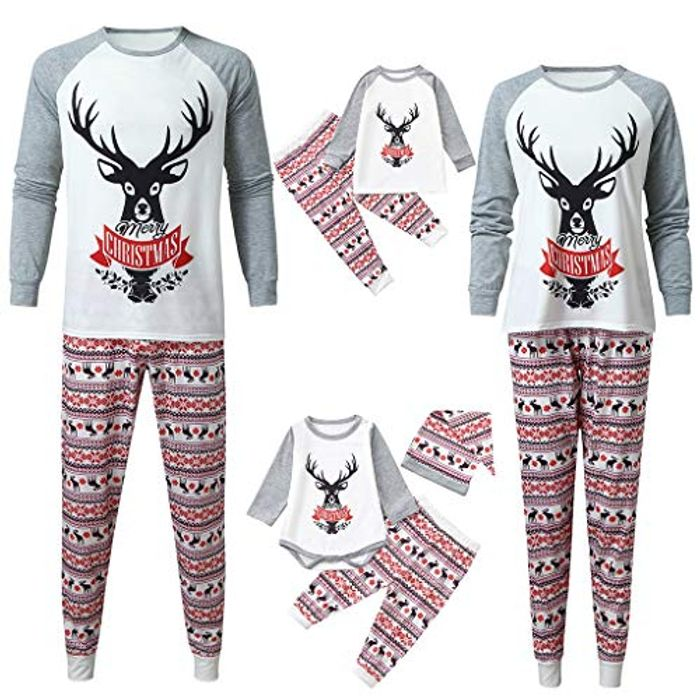 50% off Family Matching Christmas Pyjamas