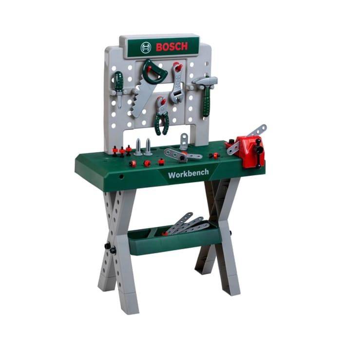 Kids Bosch Workbench X-Leg (Includes Workbench and 39 Pieces)