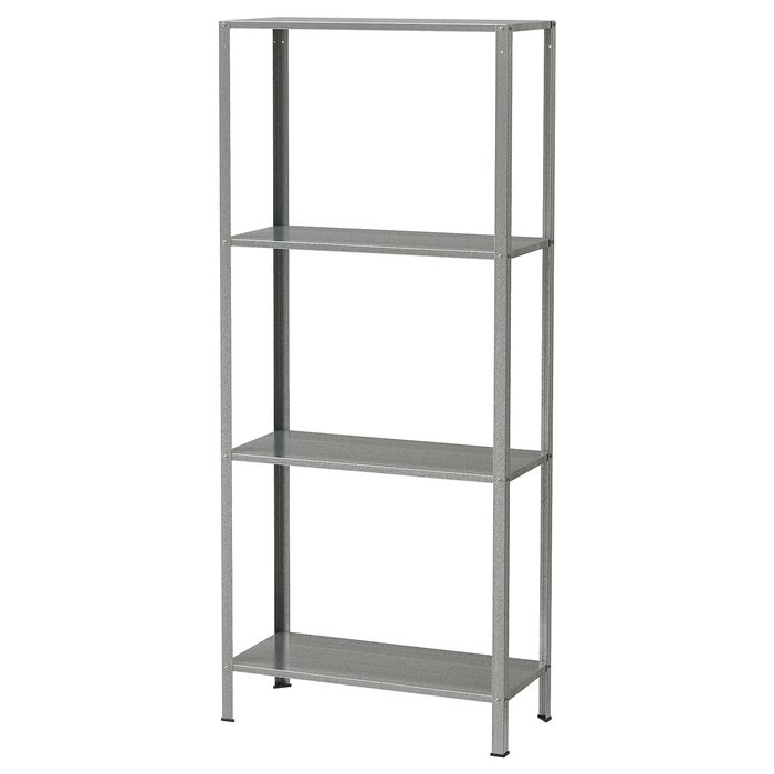 HYLLIS Shelving Unit, in or Outdoor 60 X 27 X 140 Cm