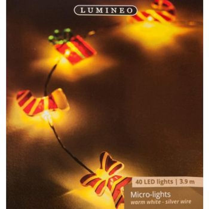 40 LED Christmas Micro Lights Decorations