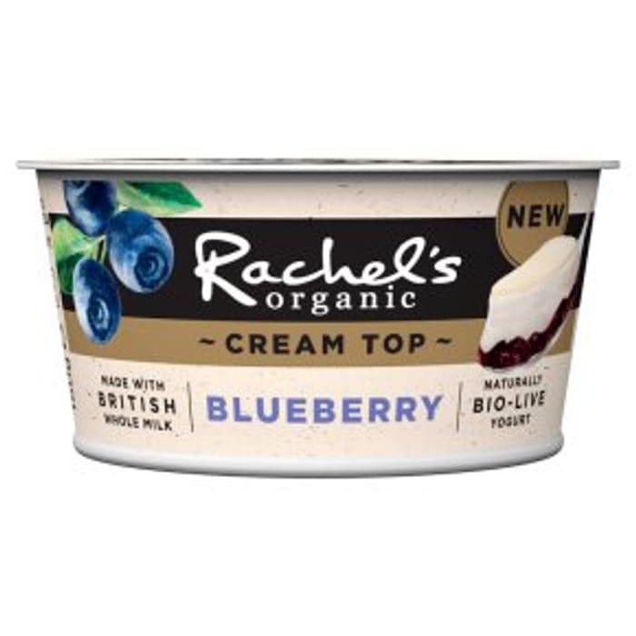 Rachel's Organic Cream Top Blueberry Yogurt 150g