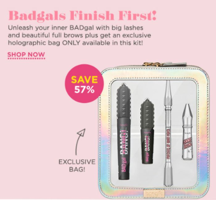 Cheap Badgal's Finish First Mascara & Brow Set - Only £34.5!