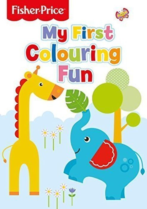 Fisher Price (Stage 2) My First Colouring Book with Free Non-Prime Delivery