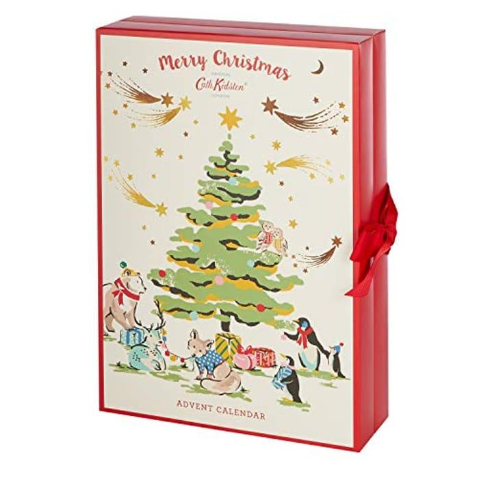 Cath Kidston 2020 Beauty Advent Calendar Gift with 24 X Bath & Body Items