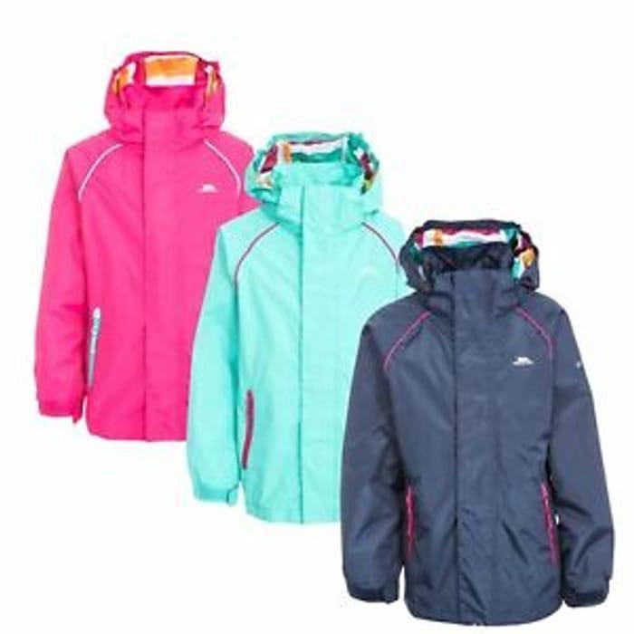 Cheap Girls Trespass Waterproof Jacket - Only £15.99!