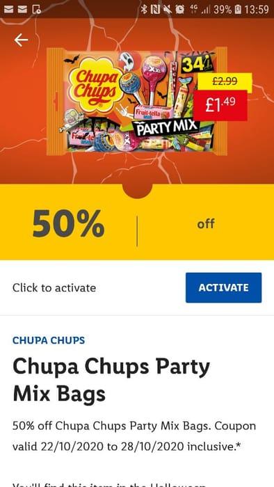 Chupa Chups Party Mix Bags