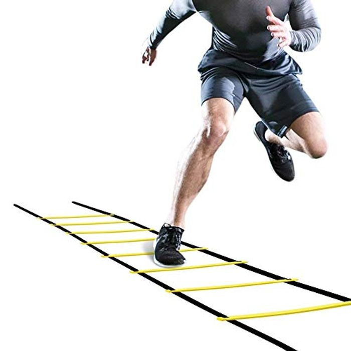 Deal Stack! OhhGo Agility Ladder Adjustable Jumping Step Rope