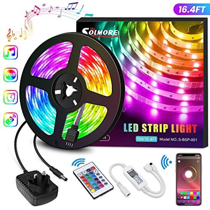 40% off LED Strips Lights 5M